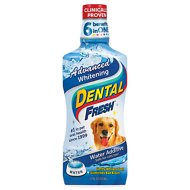 Dental Fresh Advanced Whitening Water Additive for Dogs, 17-oz bottle