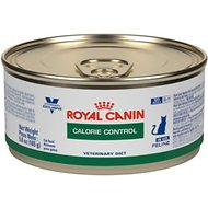 Royal Canin Veterinary Diet Calorie Control Canned Cat Food, 5.8-oz, case of 24