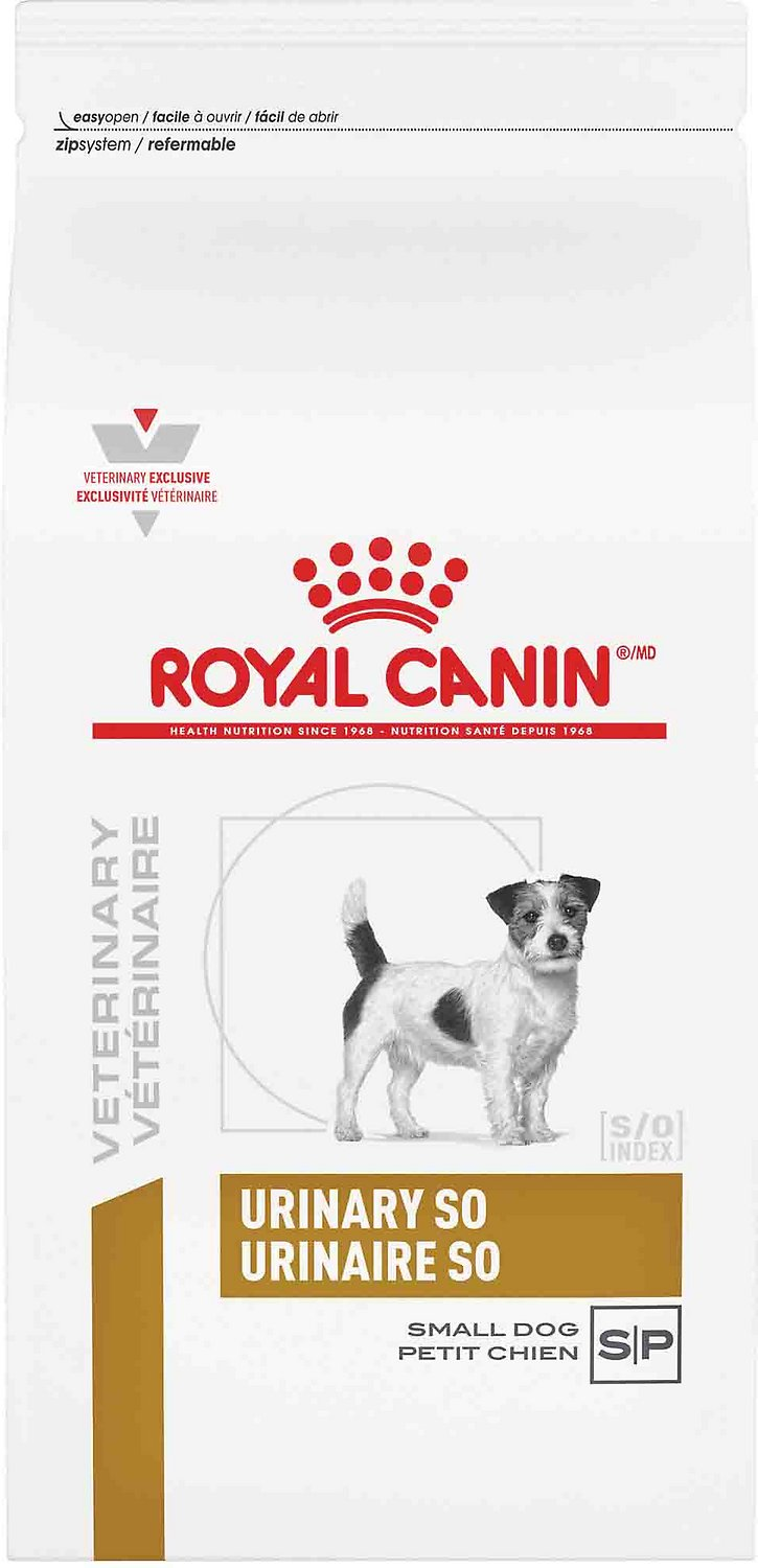 Royal Canin Puppy Food >> Royal Canin Veterinary Diet Urinary SO Small Breed Dry Dog Food, 8.8-lb bag - Chewy.com