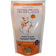 Max & Ruffy's Mother Quinoa's Pumpkin Patch Flavor Dog Treats, Mini Bites