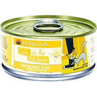Weruva Cats in the Kitchen Chicken Frick 'A Zee Chicken Recipe Au Jus Canned Cat Food, 6-oz, case of 24