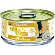 Weruva Cats in the Kitchen Goldie Lox Chicken & Salmon Recipe Au Jus Grain-Free Canned Cat Food, 6-oz, case of 24
