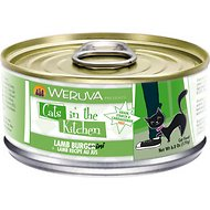 Weruva Cats in the Kitchen Lamb Burgini, Lamb Recipe Au Jus Canned Cat Food, 6-oz, case of 24