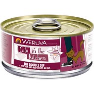 Weruva Cats in the Kitchen The Double Dip Chicken & Beef Recipe Au Jus Grain-Free Canned Cat Food, 6-oz, case of 24