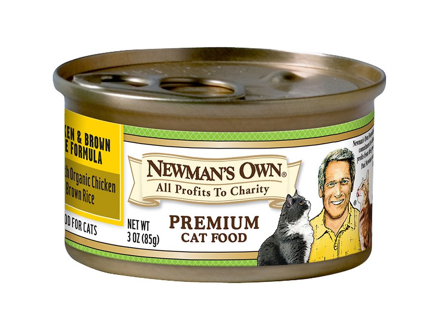 Newman S Own Organic Cat Food