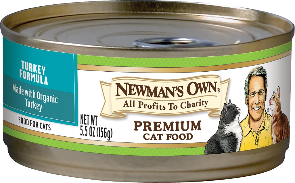 Paul Newman Canned Cat Food