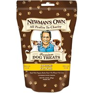 Newman's Own Organics Cheese Flavor Small Size Dog Treats, 10-oz bag