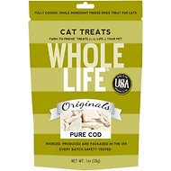 Whole Life Pure Cod Fillet Freeze-Dried Cat Treats, 1-oz bag