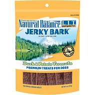 Natural Balance L.I.T. Limited Ingredient Treats Jerky Bark Duck & Potato Formula Dog Treats, 6-oz bag