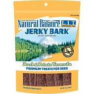 Natural Balance L.I.T. Limited Ingredient Treats Jerky Bark Duck & Potato Formula Dog Treats, 12-oz bag