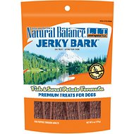 Natural Balance L.I.T. Limited Ingredient Treats Jerky Bark Fish & Sweet Potato Formula Dog Treats, 6-oz bag