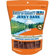 Natural Balance L.I.T. Limited Ingredient Treats Jerky Bark Fish & Sweet Potato Formula Dog Treats, 12-oz bag