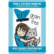 BFF Tuna & Chicken Charm Me Recipe in Gravy Grain-Free Cat Food Pouches, 3-oz, case of 12