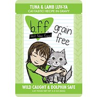 BFF Tuna & Lamb Luv Ya Recipe in Gravy Grain-Free Cat Food Pouches, 3-oz, case of 12
