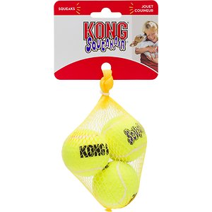 KONG Squeakair Balls Packs Dog Toy