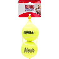 KONG AirDog Squeakair Balls Packs Dog Toy, Large