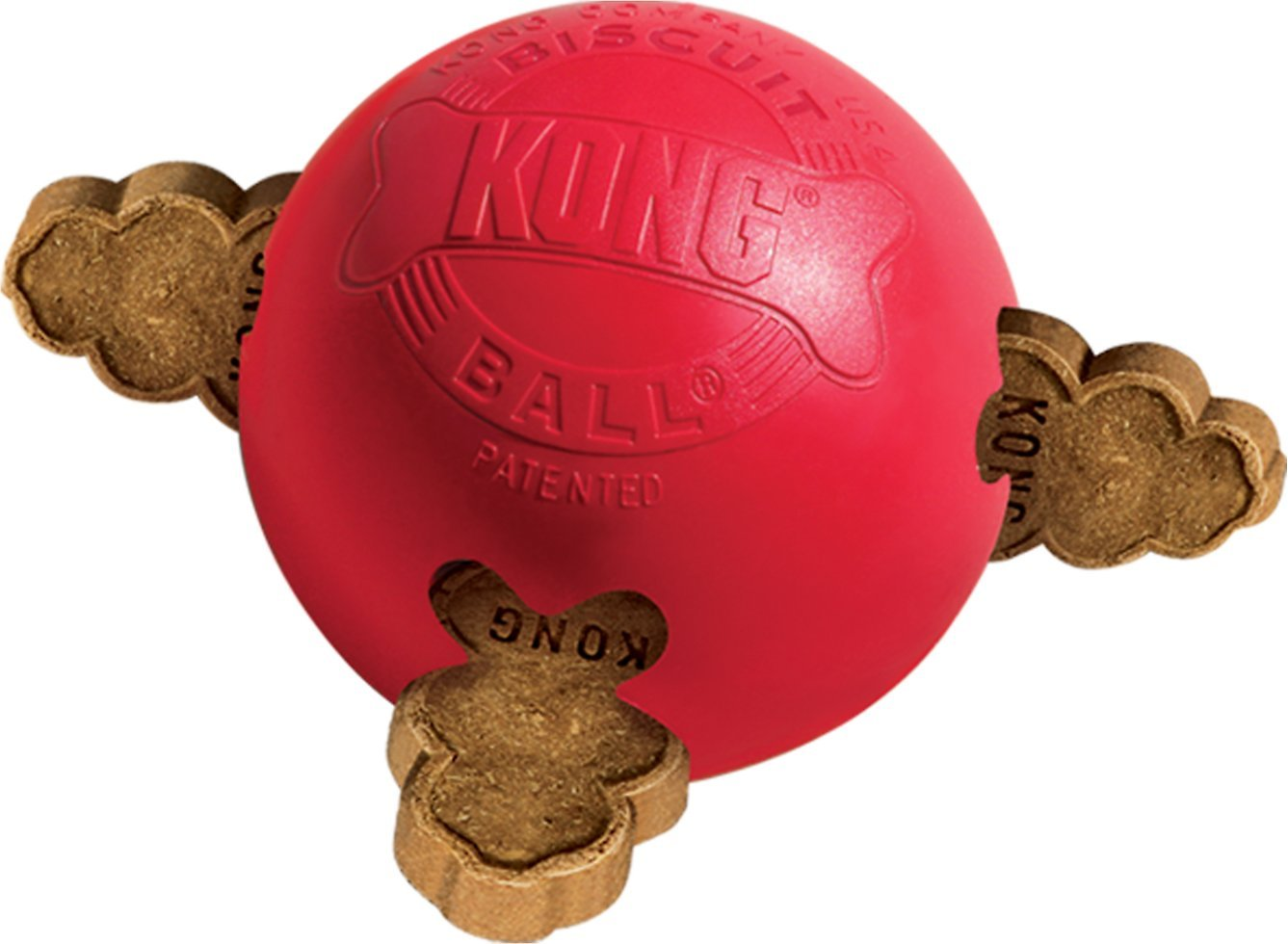 Large Dog Toys Balls : Kong biscuit ball dog toy large chewy