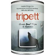 PetKind Tripett Green Beef Tripe & Venison Canned Dog Food, 13-oz, case of 12