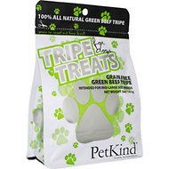 PetKind Grain-Free Green Beef Tripe Dog Treats, 5-oz bag