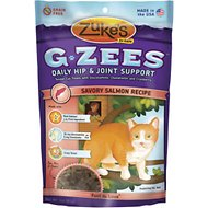 Zuke's G-Zees Savory Salmon Recipe Cat Treats, 3-oz, pouch