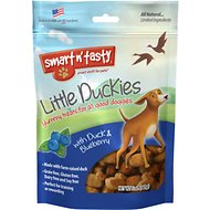 Smart n' Tasty Little Duckies with Duck & Blueberry Dog Treats, 5-oz bag