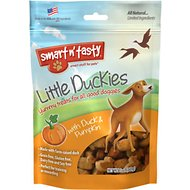 Smart n' Tasty Little Duckies with Duck & Pumpkin Dog Treats, 5-oz bag
