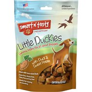 Smart n' Tasty Little Duckies with Duck & Sweet Potato Dog Treats, 5-oz bag