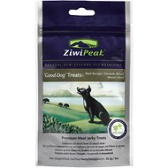 ZiwiPeak Good-Dog Beef Jerky Dog Treats, 3-oz