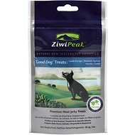ZiwiPeak Good-Dog Lamb Jerky Dog Treats, 3-oz