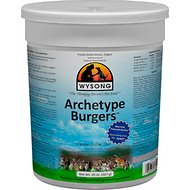 Wysong Archetype Burgers Freeze-Dried Raw Dog & Cat Food, 20-oz canister