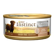 Instinct by Nature's Variety Limited Ingredient Diet Grain-Free Turkey Formula Canned Dog Food, 5.5-oz, case of 12