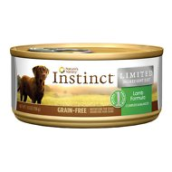 Instinct by Nature's Variety Limited Ingredient Diet Grain-Free Lamb Formula Canned Dog Food, 5.5-oz, case of 12