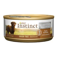 Instinct by Nature's Variety Limited Ingredient Diet Grain-Free Duck Formula Canned Dog Food, 5.5-oz, case of 12