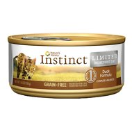 Nature's Variety Instinct Limited Ingredient Diet Duck Formula Grain-Free Canned Cat Food, 5.5-oz, case of 12