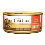 Nature's Variety Instinct Grain-Free Salmon Formula Canned Cat Food, 5.5-oz, case of 12