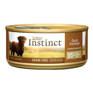 Instinct by Nature's Variety Grain-Free Duck Formula Canned Dog Food, 5.5-oz, case of 12