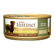 Instinct by Nature's Variety Grain-Free Venison Formula Canned Dog Food, 5.5-oz, case of 12