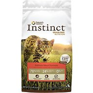 Nature's Variety Instinct Grain-Free Salmon Meal Formula Dry Cat Food, 5.5-lb bag