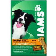 Iams ProActive Health Adult Large Biscuits Dog Treats, 4-lb box