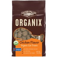 Castor & Pollux Organix Chicken Flavor Organic Cat Treats, 2-oz bag
