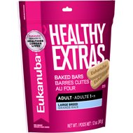 Eukanuba Healthy Extras Large Breed Adult Dog Treats, 12-oz bag