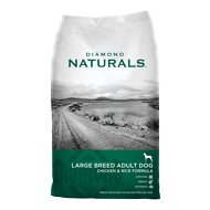 Diamond Naturals Large Breed Adult Chicken & Rice Formula Dry Dog Food, 40-lb bag