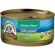 Newman's Own Organic Grain-Free 95% Chicken Dinner Canned Cat Food, 5.5-oz, case of 24