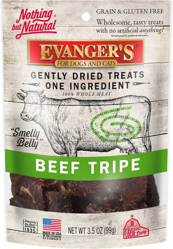 Evangers Nothing But Natural Beef Tripe Gently Dried Dog Cat