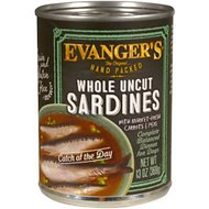 Evanger's Grain-Free Hand Packed Catch of the Day Canned Dog Food, 12-oz, case of 12