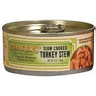 Evanger's Signature Series Slow Cooked Turkey Stew Grain-Free Canned Cat Food, 5.5-oz, case of 24