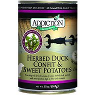 Addiction Grain-Free Herbed Duck Confit & Sweet Potatoes Entree Canned Dog Food, 13-oz, case of 12