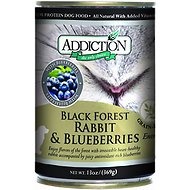 Addiction Grain-Free Black Forest Rabbit & Blueberries Entree Canned Dog Food, 13-oz, case of 12