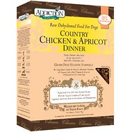 Addiction Grain-Free Country Chicken & Apricot Dinner Raw Dehydrated Dog Food, 2-lb box