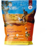 Addiction Outback Kangaroo Feast Raw Grain-Free Dehydrated Dog Food, 2-lb box